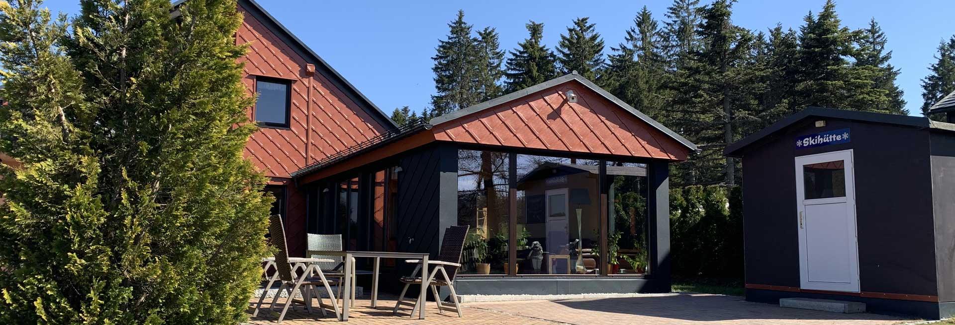 Sitzecke Ferienhaus Tellerhäuser / Erzgebirge