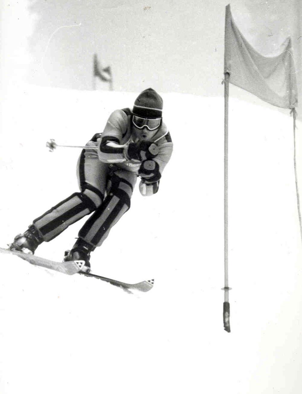 Peter Riedel: Schneekristall 1982